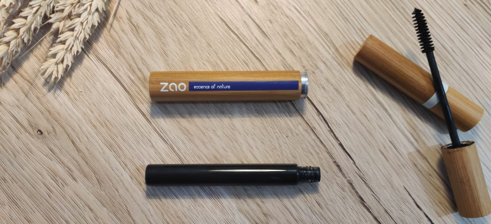mascara rechargeable zao make up